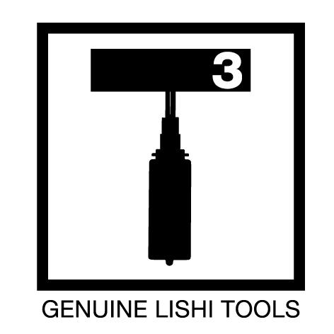 Genuine Lishi T3 Tools